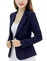 Women's OL Slim Business Suits Blazer Tops Jackets Outfit