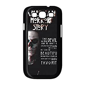 Luxury Design with American Horror Story New Fashion Protective Hard Plastic Case Cover for Samsung Galaxy S3 I9300 Black 022709
