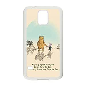Artistic bear and rabbit Cell Phone Case for Samsung Galaxy S5