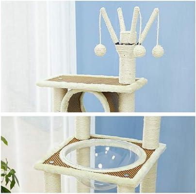 RCT-Cat Tree Navidad Cat Tree Vine Árbol De Gato Sisal Multicapa ...