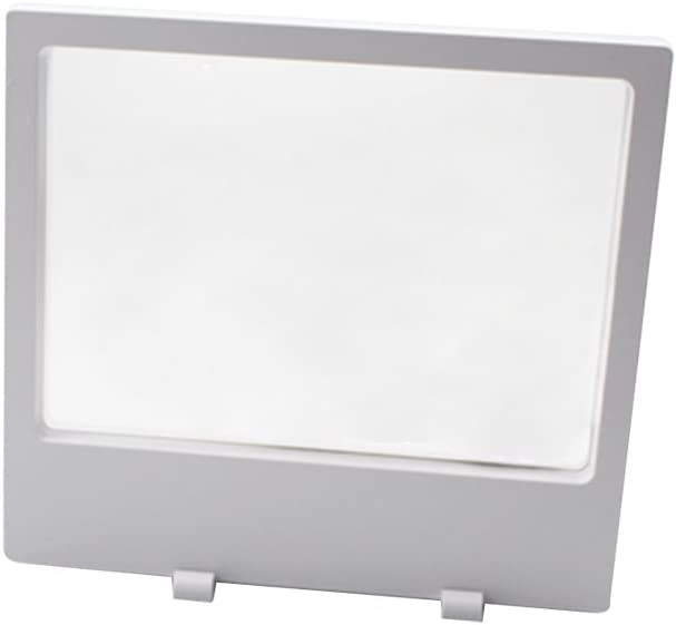 BCLP 20/cm pour Animal Domestique Membrane Blanc Flottant Cadre Support pour /Écran avec Supports pour Pi/èce de Monnaie Bijoux M/édailles /Écran 3D/ /Lot DE 2 Blanc