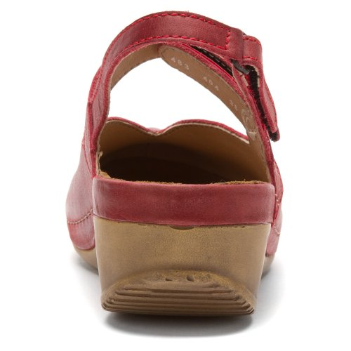 Leather Sandals Surge Cartago Red Wolky Women's zwqHUq6Z