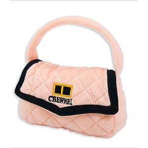 Chewnel Bag Plush Parody Dog Toy w/ Squeaker by Dog Diggin Designs