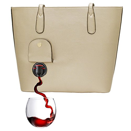 PortoVino Wine Purse Gold Fashionable