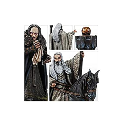 Games Workshop Middle Earth Strategy Battle Game: Saruman The White & Grima: Toys & Games