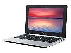 ASUS C200MA Chromebook 11.6 Inch, Intel Dual Core, 4GB RAM, 16GB SSD Storage (Black)