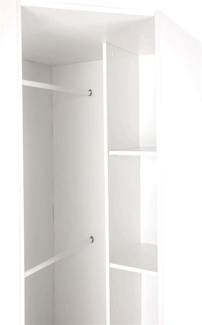Acton Bedroom Furniture Collection - Wardrobes, Drawers & Bedside - White