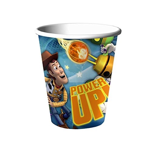 Disney Pixar Toy Story Woody and Buzz Lightyear Power Up! Hallmark Paper Cups 16 Count