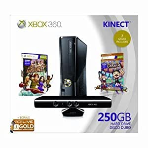 Selected X360 250GB Kinect Holiday Bndl By Microsoft Xbox