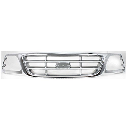 - Koolzap For NEW 97-04 F-Series Pickup Truck Front Grill Grille Assembly FO1200371 3L3Z8200AB