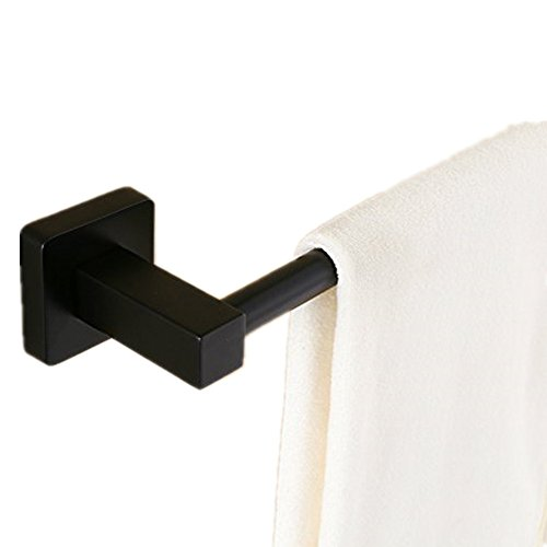 AUSWIND Stainless Steel Black Oil Finished Towel Bar 23