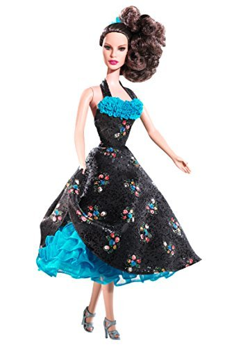 (Cha Cha Dance-Off Grease Collectable Silver Label Barbie Fashion Doll)