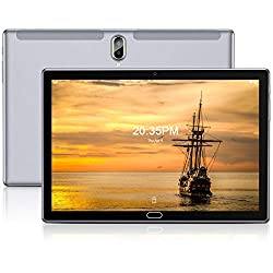 Tablet 10 Zoll Android 10.0, FEONAL 4G LTE Tablet PC Mit 2 SIM 1 SD Slot 4GB RAM 64GB ROM 128GB TF, 128GB Erweiterung…