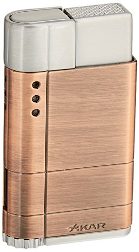 Xikar Cigar Accessories - Xikar 9686BZ Cirro High Altitude Lighter Turbo Flame, Bronze