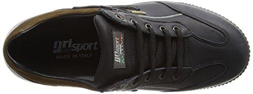 Grisport Arran, Zapatos de Low Rise Senderismo para Hombre Negro (Black)
