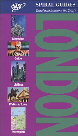 AAA Spiral Guide: London (AAA Spiral Guides) -