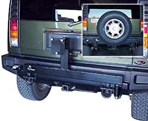 Husky Rear Spare Tire Carrier For The 2005 Hummer H2 Tires Wheels Amazon Canada