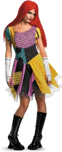 Spook Shop Nightmare Before Christmas Sexy Sally Costume - Large