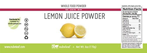Nubeleaf Lemon Juice Powder (6oz)