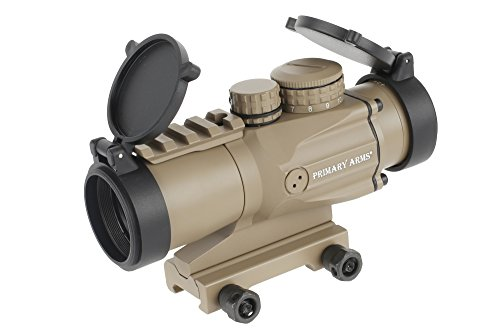 Primary Arms 3X Compact Prism Scope with the Patented ACSS 5.56 Reticle, Flat Dark Earth - PAC3X-ACSS-5.56-FDE