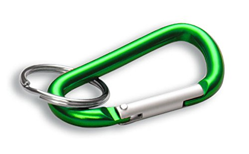 "Lucky Line Small ""C"" Clip Green,  10 per pack (46040)"
