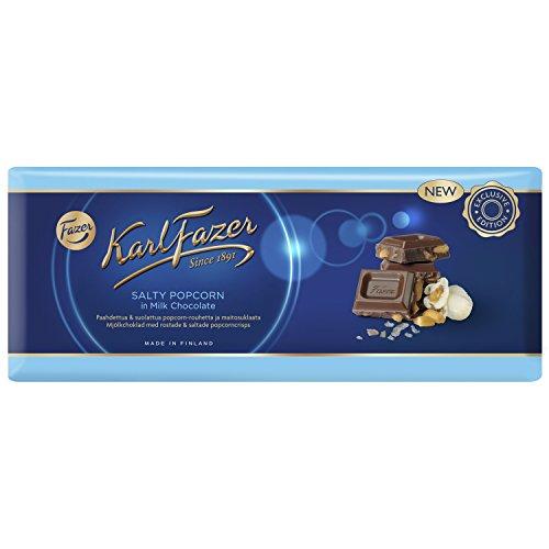 Fazer Salty Popcorn Mil k Chocolate 250 g