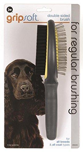 Double Sided Grooming - JW Pet Company GripSoft Double Sided Brush Dog Brush