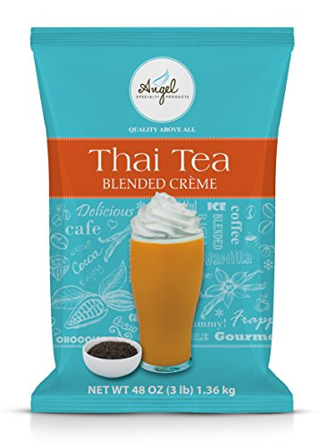 Angel Specialty Products | Thai Tea Blended Creme 3-Pound Powder Mix by Angel Specialty Products