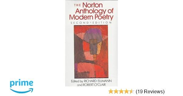 Amazon com: Norton Anthology of Modern Poetry (9780393956368