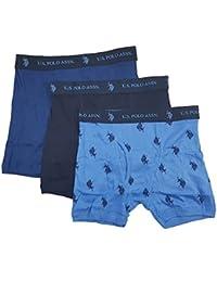 U.S. Polo Assn.... Men's 3-Pack Cotton Boxer Briefs