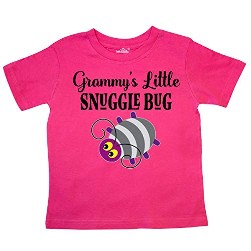 (inktastic - Grammy Little Snuggle Bug Outfit Toddler T-Shirt 3T Hot Pink 31b6d)