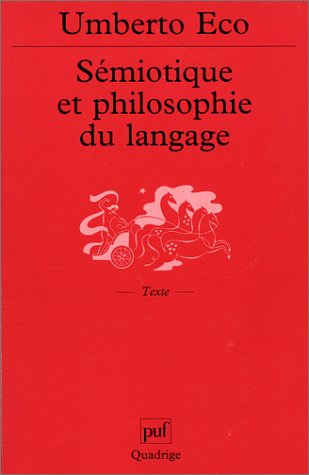 Download Sémiotique et philosophie du langage ebook