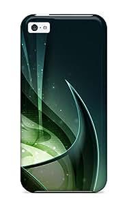 New Arrival JwsnbfL133RHdKq Premium Iphone 5c Case(green Consciousness Dekstop )