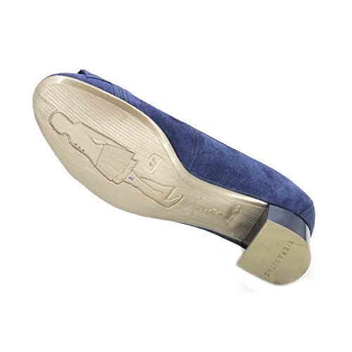 Azul Hispanitas Jeans Hispanitas Cuero PHV86881 Mujer xfTqznwa1