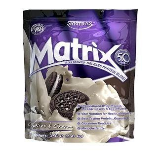 Syntrax Matrix 5.0 Cookies and Cream -- 5 lbs