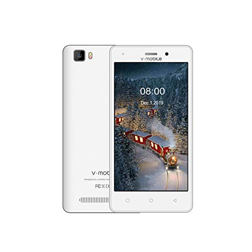 V Mobile A11-Unlocked 4G Android 8.1Cell Phones ,5.2in Unlocked Smartphone Dual Camera Dual SIM Card , 16GB+1GB RAM 2800…