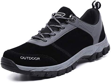 登山靴 ハイキングシューズ メンズ ブラック 通気性 防滑 耐摩耗 ウォーキングシューズ カジュアル スニーカークライミングシューズ 通気性 アウトドアシューズ 27.0cm 通勤 通学 日常着用 山歩き 里歩き 登山道 キャンプ シューズ