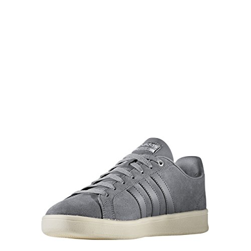 Adidas cloudfoam Advantage, Baskets mode pour homme, gris (Gris/Ftwbla/plamat) 40