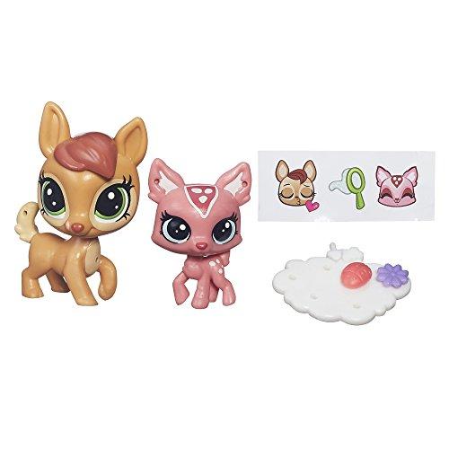 Price comparison product image Littlest Pet Shop Pet Pawsabilities Daphne Deerheart & Fauna Deerheart