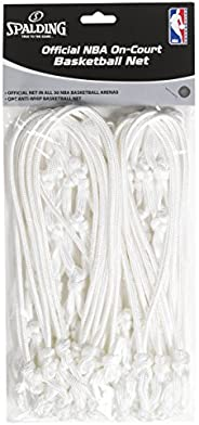Spalding 413-625 Official NBA On-Court A Net, White