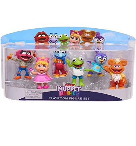Muppet Babies Games - Disney Junior Muppet Babies Bundle - Playroom Figure Set 6-Pack & 2.5