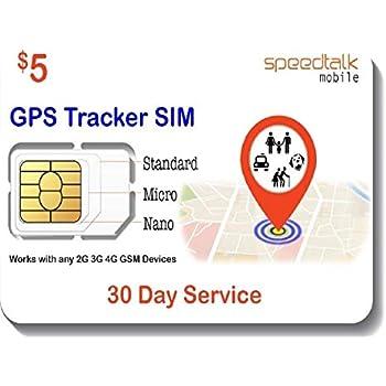 Amazon.com: Tarjeta SIM de 10 dólares para GPS Tracking Pet ...