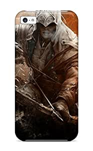 Iphone 5c Case Cover Skin : Premium High Quality Assassins Creed 3 Connor Case