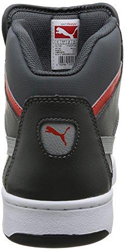 03 Rebound Gray Zapatillas Mujer Shadow Para De Puma dark limestone Sintético V 2 Hi Material Gris Grau a1wIBqd