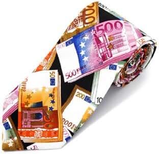 Money Theme Tie