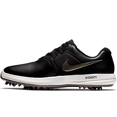 Nike Air Zoom Victory Golf Shoes 2019 Black/Metallic Pewter/Gunsmoke/Vast Gray Medium 9 (Zoom Victory Nike)