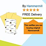 Hammermill Buff Colored 20lb Copy Paper, 8.5x11, 1