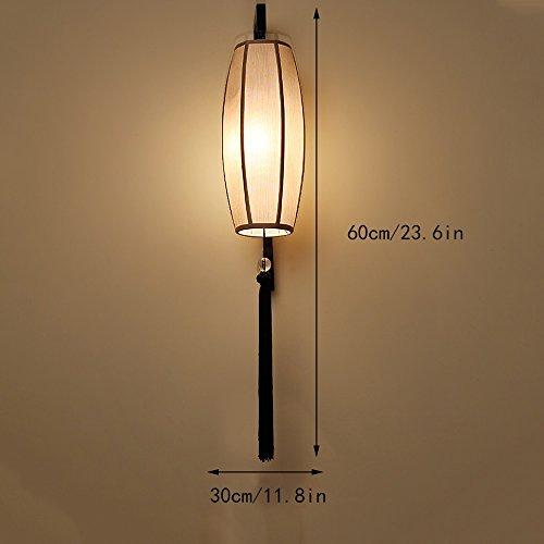 Rétro Mur De Feux Chinois Fer Lampe Style Couloir l13JTKFc