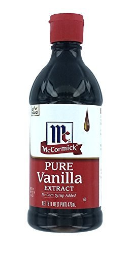 McCormick Pure Vanilla Extract-16 OZ (Pack of 6) by McCormick