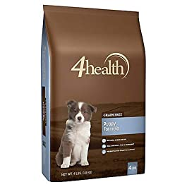 4health Tractor Supply Company Grain Free Puppy Formula Dog Food, Dry, 4 lb. Bag